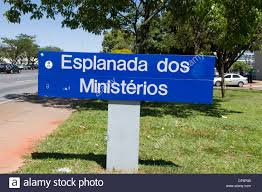 100 Where Is Brasilia Located Esplanada Dos Ministerios Is A Long Avenue With Many