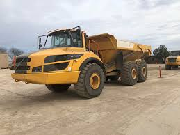 100 Articulated Trucks Volvo A40G Truck For Sale 7166 Hours Austin TX ZID