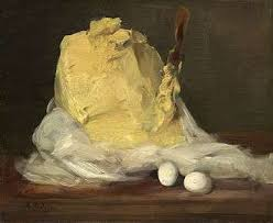 Still Life With Chair Caning Mood by Antoine Vollon Mound Of Butter National Gallery Of Art Jpg