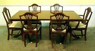 Antique Dining Room Furniture For Sale Mahogany Table Set