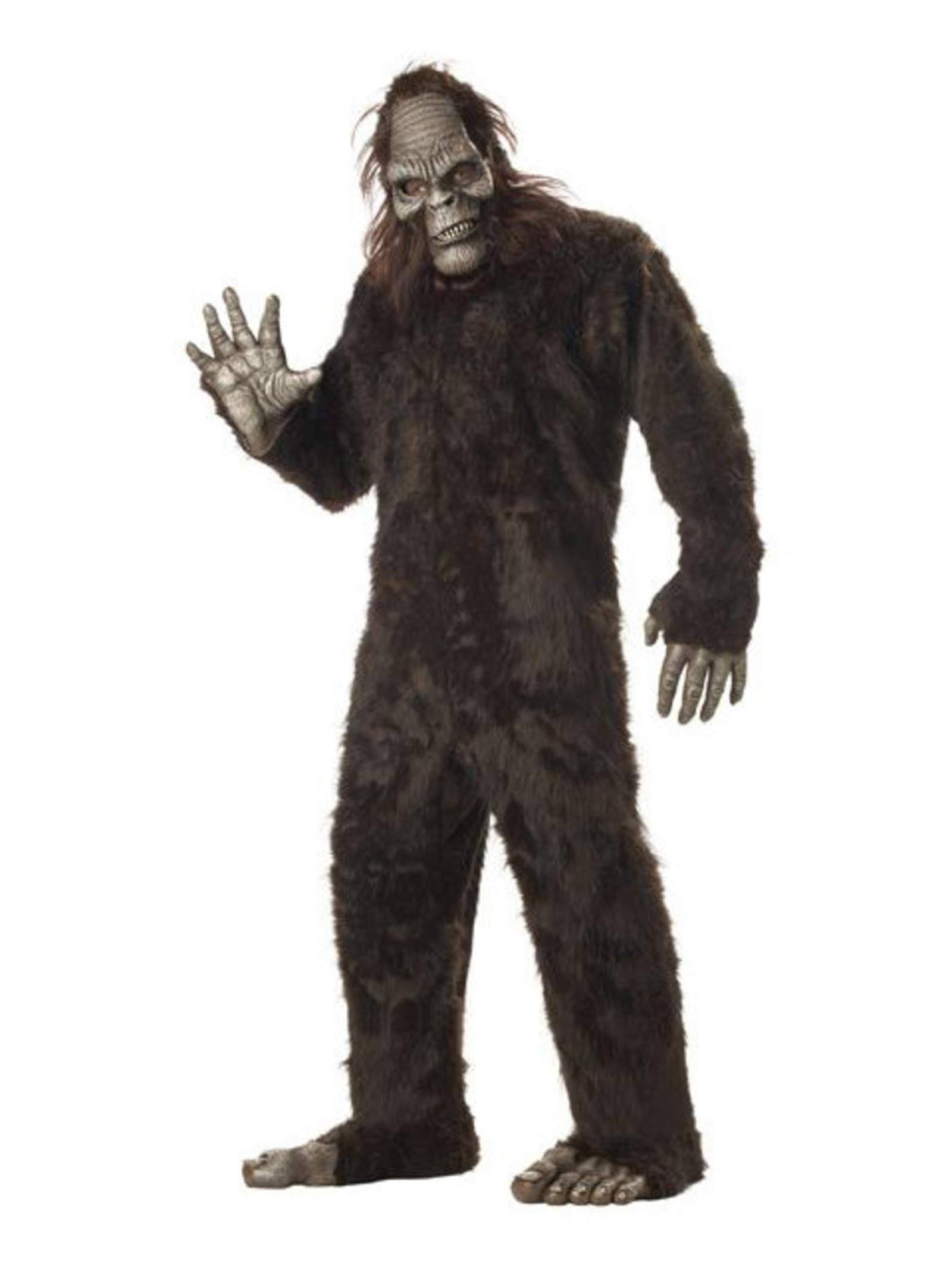 California Costume Adult Deluxe Big Foot Costume - One Size