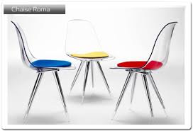 luxe chaise de cuisine design roma 1 italien conforama haute eliptyk