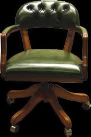 fauteuil de bureau vert fauteuil de bureau anglais court swivel longfield 1880