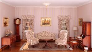 das wohnzimmer im chippendale stil eingerichtet mit
