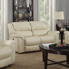 Darrin Leather Reclining Sofa With Console by Recliner Loveseat Ashley Tulen Gray Dual Reclining Console