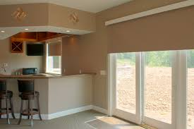 Decorative Traverse Rod For Patio Door by Affordable And Quality Blinds For Sliding Doors Drapery Room Ideas
