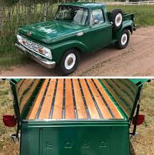100 Custom Flatbed Trucks Truck Beds Bed Wood Treatment 1956 Chevy
