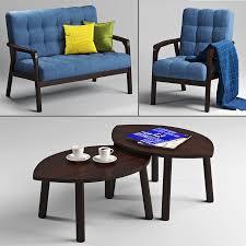 jysk und ikea wohnzimmer set 3d modell 5 max fbx free3d