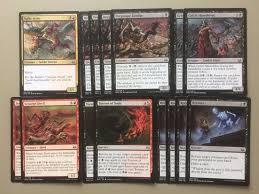 deck mtg modern black unearth magic deck modern desecration mizzium