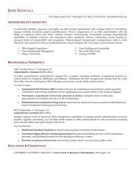 Monstercomrhmonstercom Administrative Sample Resume For Executive Assistant To Md Office Luxury Rhwtfmathscom