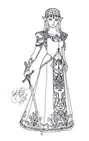 Princess Zelda Coloring Pages PHOTO 66056
