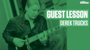 Derek Trucks Guest Lesson (TG239) - YouTube