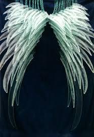Orleans Effusion Lamp Oil by Avoid Crash Landings U0027 Glass Angel Wings Recycled Window Glass