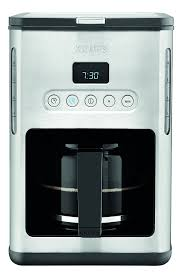Amazon KRUPS KM442D Control Line Programmable Coffee Maker Machine With Stainless Steel Finish 10 Cup Silver Kitchen Dining