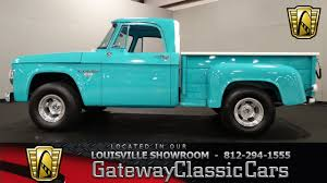1965 Dodge D100 Pickup Truck - Louisville Showroom - Stock # 1061 ... 1976 Chevrolet C10 Stepside Pickup Truck Louisville Showroom Enterprise Car Sales Certified Used Cars Trucks Suvs For Sale Yale Lift Ky Equipment Rentals Craig And Landreth St Matthews New Uhl Heavy Service Parts In Switching Ottawa Yard Ford Ky News Of Release 2015 Silverado 1500 Lt For 1965 Dodge D100 Stock 1061 Diesel In Beautiful Ford Superduty F Box