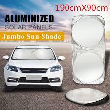 100 Truck Windshield Visor Car Block Cover Foldable Jumbo Extra Large Sun