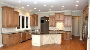 Kitchen Maple Wood Cabinets
