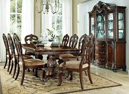 Formal Dining Room Table Charming Brown Rectangle Contemporary Wooden Tables Stained Design With