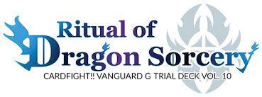 Trial Deck 9 by Cardfight Vanguard G Trial Deck Vol 10 Ritual Of Dragon