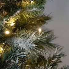 Slimline Christmas Tree Australia by Werchristmas Pre Lit Slim Snow Flocked Spruce Multi Function