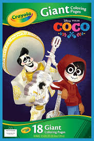 Crayola Disney Pixar Coco Giant Coloring Pages Book