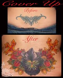 Tattoo Lower Back Coverup