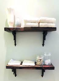 Floating Shelves In Bathroom Rustic Wooden Medium Size Of Wood