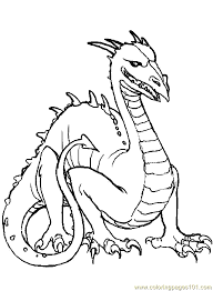 Dragon Coloring Page 04