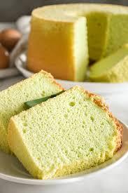 pandan chiffon cake updated