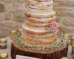 Gorgeous 16 Rustic Log Slice X 4 Thick Ideal For Wooden Wedding Cake