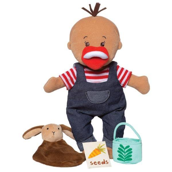 Manhattan Toy Wee Baby Tiny Stella Farmer Set Doll