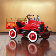 Dexton Deluxe Fire Engine Roadster Pedal Car - DX-22233F – Nurzery.com Antique Hook And Ladder Fire Truck Pedal Car 275 Antiques For Price Guide American Fire Truck Pedal Car Second Half20th Restoration C N Reproductions Inc Instep Riding Toy Hayneedle Childs Red Toy Pedal Car Based On An American Fire Truck Amazoncom Instep Toys Games 60sera Blue Moon Gearbox Vintage Firetruck Cars Pinterest Cars Withrows Body Shop Rare Large Structo Jeep Red Firetruck With Airbags Stuff