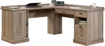 Sauder L Shaped Desk Instructions by Sauder Barrister Lane L Shaped Desk Homemakers Furniture
