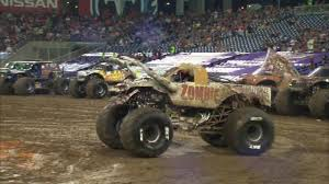 100 Monster Trucks Nashville Zombie FULL Freestyle Jam In Nissan Stadium