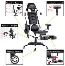 Top Gamer Gaming Chair High Back PC Computer Game Chair With ... Top Gamer Ergonomic Gaming Chair Black Purple Swivel Computer Desk Best Ever Banner New Chairs Xieetu High Back Pc Game Office 10 Under 100 Usd Quality 2019 Deals On Anda Seat Dark Knight Premium Buying The 300 Updated For China Workwell Cool Of Complete Reviews With Comparison Ten Fablesncom Noblechairs Epic Series Real Leather Free Shipping No Tax Noblechairs Icon Grain Cha Ocuk