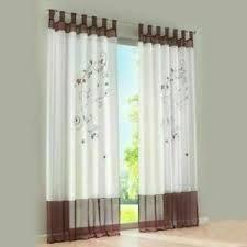 details zu gardinen mit schlaufen vorhänge wohnzimmer schlaufenschals transparent modern