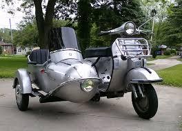 Modern Vespa Sidecars For Vintage