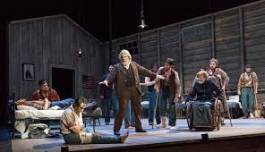 Walt Whitman The Wound Dresser by Review Crossing Brooklyn Academy Of Music