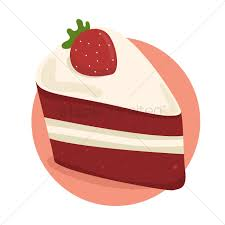 Pastry clipart cake slice 8