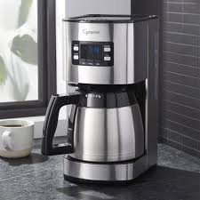 Capresso R ST300 Stainless Steel 10 Cup Coffeemaker With Thermal Carafe
