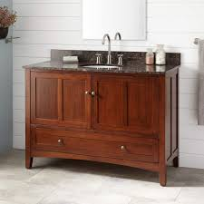 Distressed Cherry French Country Bathroom Vanity by Bathroom Durable Vanity Signature Hardware