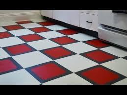how to install a temporary vinyl tile floor
