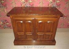 Ethan Allen Buffet Server Cabinet Classic Manor Maple 6015 Formica Inside