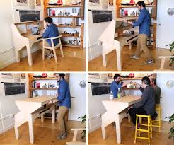 bureau convertible bureau convertible en bar par jonathan odom esprit design