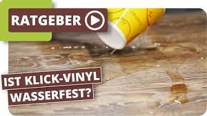 ist klick vinyl wasserdicht und im badezimmer einsetzbar