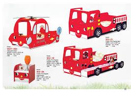 100 Kids Fire Truck Bed SMART KIDS Furniture 90219 Engine Bunk Bed China Manufacturer