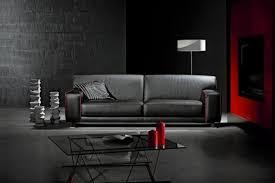 canape cuir buffle italien salon moderne cuir idées décoration intérieure farik us