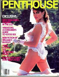 100 Penthouse Maga Zine April 1986 Dominique St Croix Pet Of The Month On The Cover
