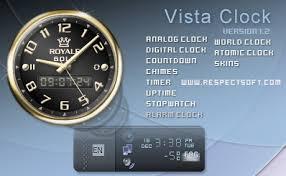 horloges pour windows vista