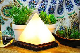 Large Pyramid Salt Lamp by Salt Lamps Yellow Tree Company